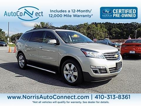 2014 Chevrolet Traverse for sale in Ellicott City, MD