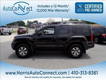 2012 Nissan Xterra for sale in Ellicott City, MD