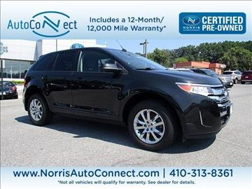 2014 Ford Edge for sale in Ellicott City, MD