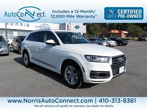 2017 Audi Q7 for sale in Ellicott City, MD