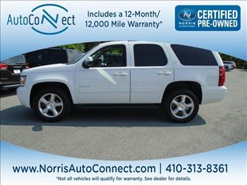 2011 Chevrolet Tahoe for sale in Ellicott City, MD