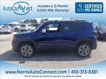 2016 Jeep Renegade for sale in Ellicott City, MD