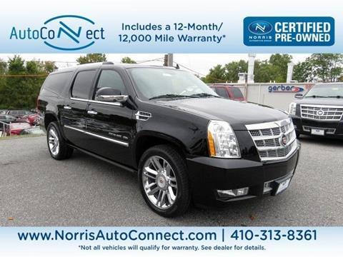 2014 Cadillac Escalade ESV for sale in Ellicott City, MD