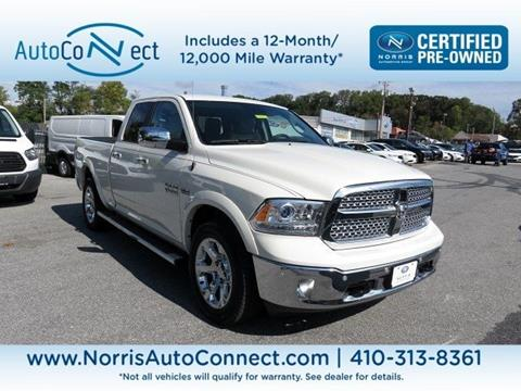 2016 RAM Ram Pickup 1500 for sale in Ellicott City, MD
