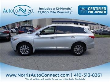 2014 Infiniti QX60 for sale in Ellicott City, MD