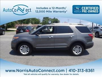 2014 Ford Explorer for sale in Ellicott City, MD