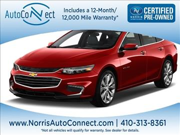 2016 Chevrolet Malibu Limited for sale in Ellicott City, MD