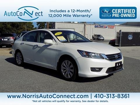 2014 Honda Accord for sale in Ellicott City, MD