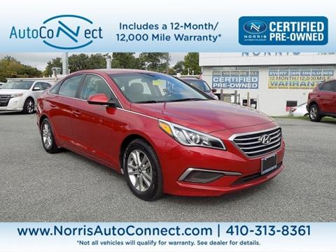 2017 Hyundai Sonata for sale in Ellicott City, MD