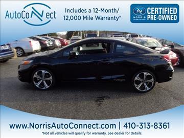 2015 Honda Civic for sale in Ellicott City, MD