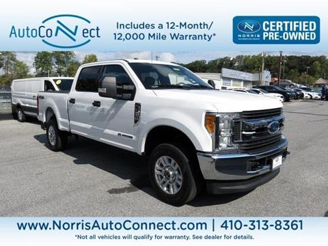 2017 Ford F-250 Super Duty for sale in Ellicott City, MD