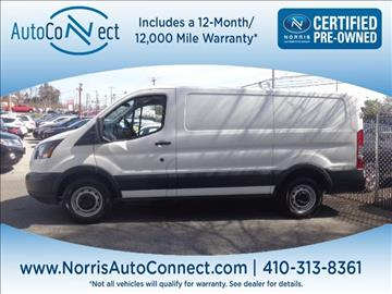 2016 Ford Transit Cargo for sale in Ellicott City, MD