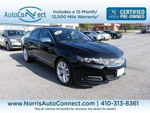 2017 Chevrolet Impala for sale in Ellicott City, MD
