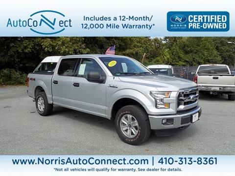 2016 Ford F-150 for sale in Ellicott City, MD
