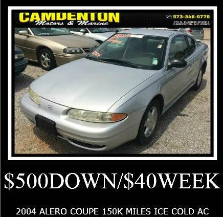 2004 Oldsmobile Alero Gl1 2dr Coupe In Camdenton Mo