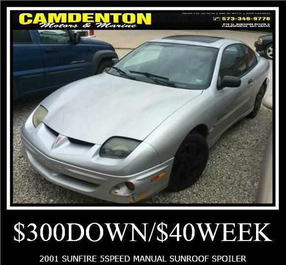 2001 Pontiac Sunfire Se 2dr Coupe In Camdenton Mo