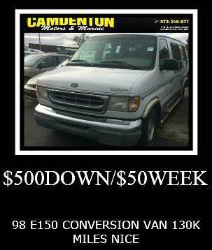 1998 Ford E 150 For Sale In Camdenton MO