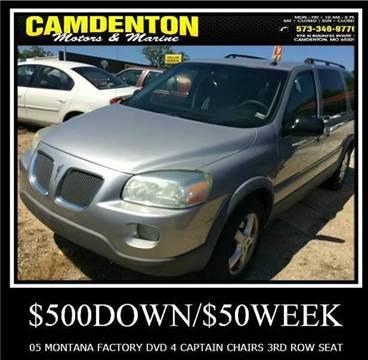 2005 Pontiac Montana SV6 for sale in Camdenton, MO