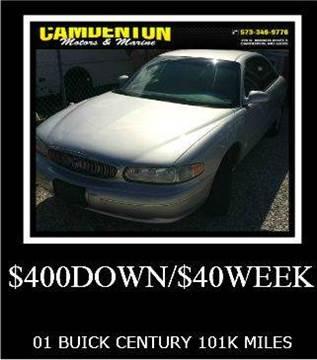 2001 Buick Century for sale in Camdenton, MO