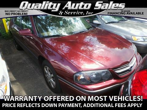 2000 Chevrolet Impala for sale in Waterbury, CT