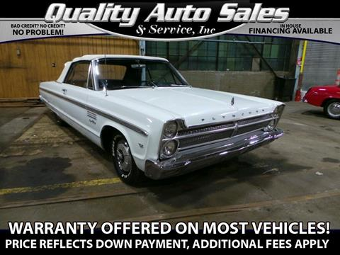 1965 Plymouth Sport Fury for sale in Waterbury, CT