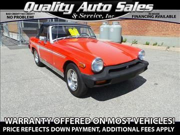 1976 MG B for sale in Waterbury, CT