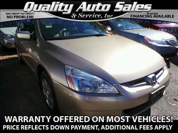 2005 Honda Accord for sale in Waterbury, CT