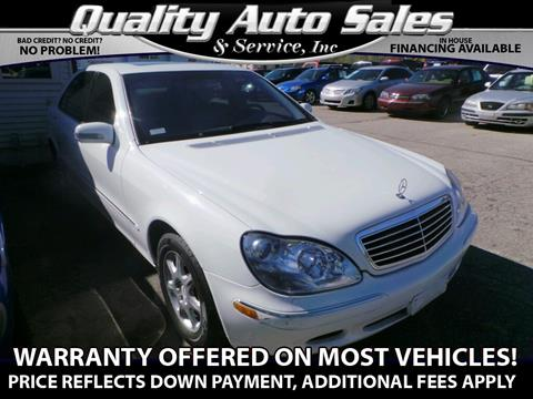 2001 Mercedes-Benz S-Class for sale in Waterbury, CT