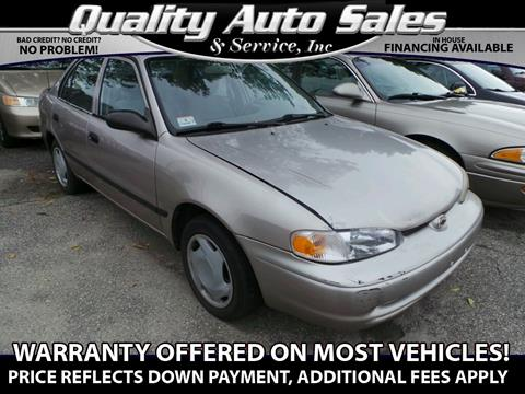 2000 Chevrolet Prizm for sale in Waterbury, CT