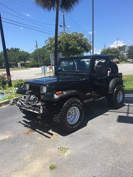 1990 Jeep Wrangler for sale in Valdosta, GA