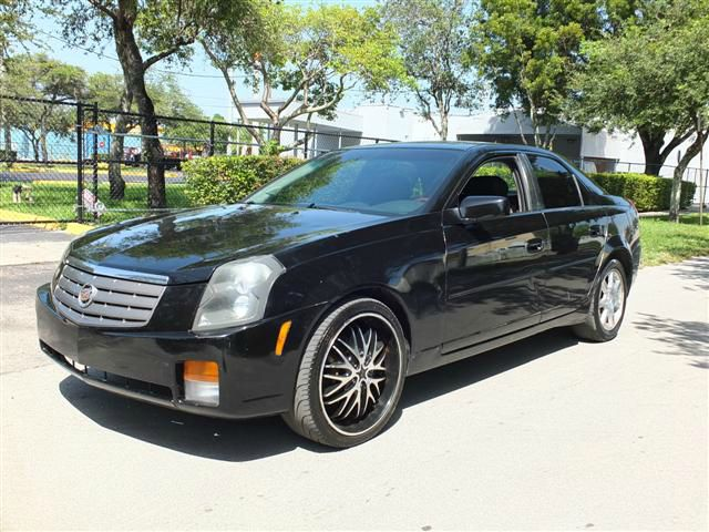 2005 CADILLAC CTS 36L black abs brakesair conditioningalloy wheelsamfm radioanti-brake syste