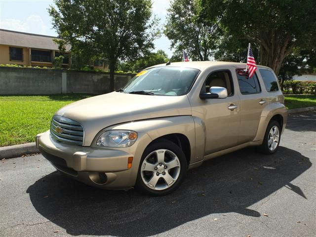 2007 CHEVROLET HHR LT1 gold air conditioningalloy wheelsamfm radioanti-brake system non-abs