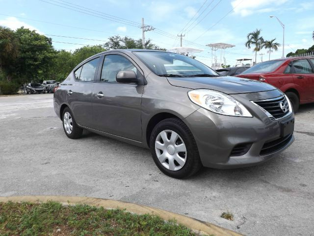 2012 NISSAN VERSA 16 SL SEDAN grey abs brakesair conditioningalloy wheelsamfm radioanti-brak
