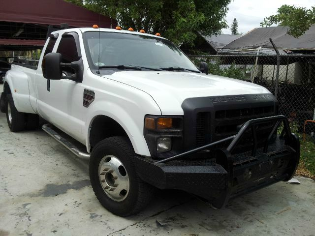 2008 FORD F350 XL SUPERCAB LONG BED DRW 4WD white 4wdawdabs brakesamfm radioanti-brake system