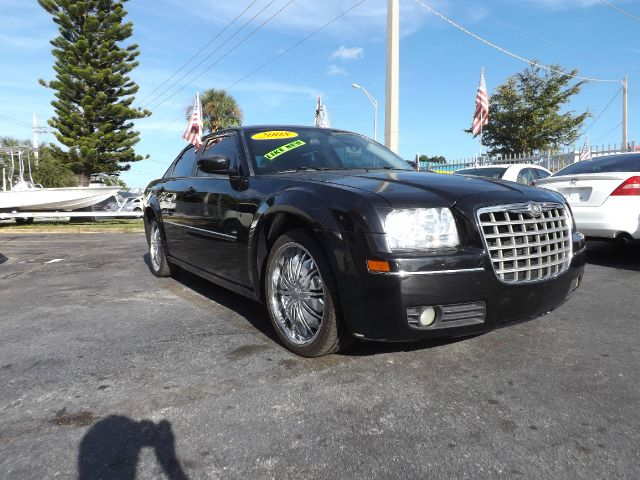 2008 CHRYSLER 300 TOURING black abs brakesair conditioningalloy wheelsamfm radioanti-brake sy