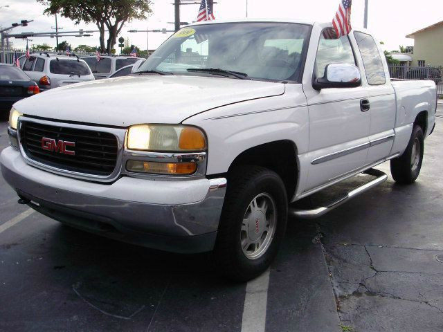 1999 GMC SIERRA 1500 SL EXT CAB LONG BED 4WD white 4wdawdabs brakesamfm radioanti-brake syst