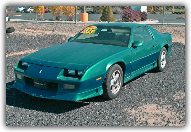 1992 chevrolet camaro for sale in carson city nv for Eagle valley motors carson city nv