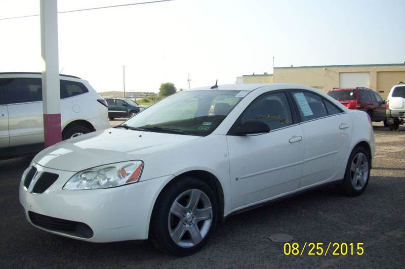 2008 Pontiac G6 Base 4dr Sedan In Liberal Ks Sunrise