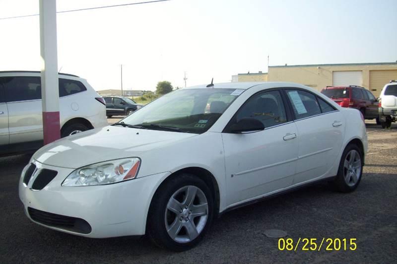 2008 Pontiac G6 Base 4dr Sedan In Liberal Ks Sunrise