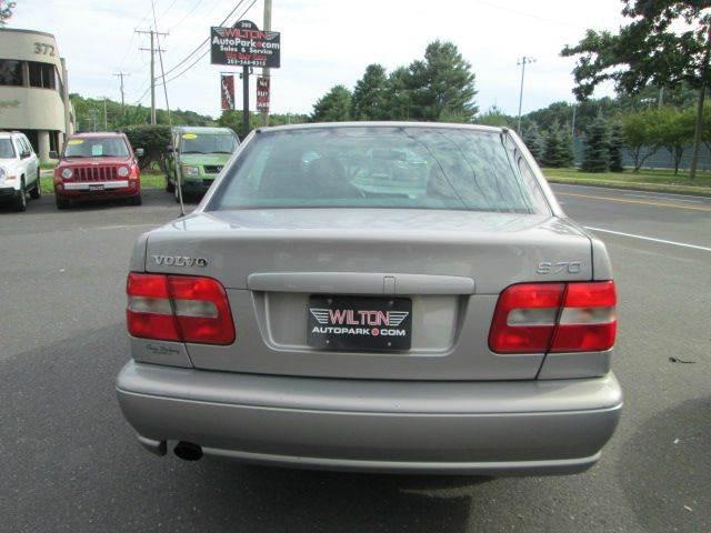 1999 Volvo S70 Base 4dr Sedan In Wilton Ct Wilton Auto