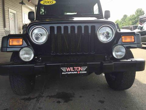 2005 Jeep Wrangler for sale in Wilton, CT