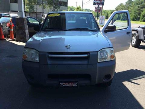 2003 Nissan Frontier for sale in Wilton, CT