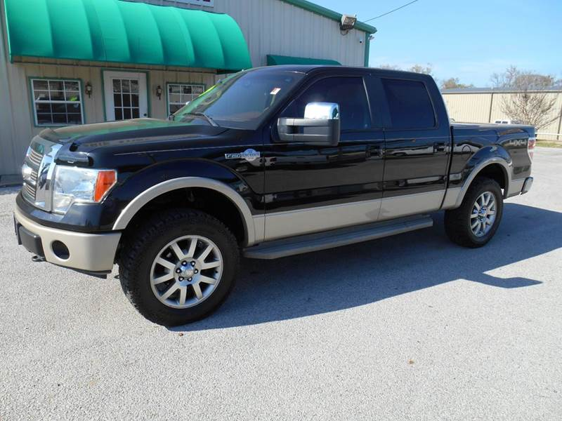 2009 ford f 150 4x4 king ranch 4dr supercrew styleside 5 5 ft sb in tyler tx glaspie auto finance. Black Bedroom Furniture Sets. Home Design Ideas