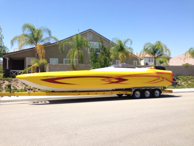 2003 ELIMINATOR BOATS 36 DAYTONA ICC