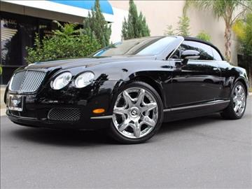 2007 Bentley Continental GTC for sale in Corona, CA