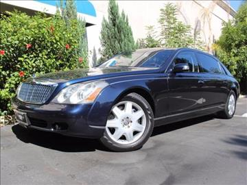 2005 Maybach 62 for sale in Corona, CA