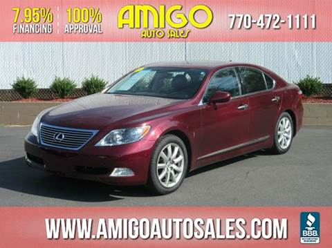 2008 lexus ls 460 for sale georgia. Black Bedroom Furniture Sets. Home Design Ideas