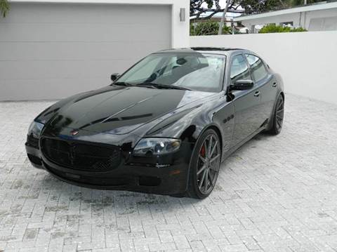 2007 Maserati Quattroporte for sale in Jacksonville, FL