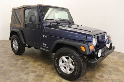 2003 jeep wrangler for sale in grand rapids mi. Cars Review. Best American Auto & Cars Review