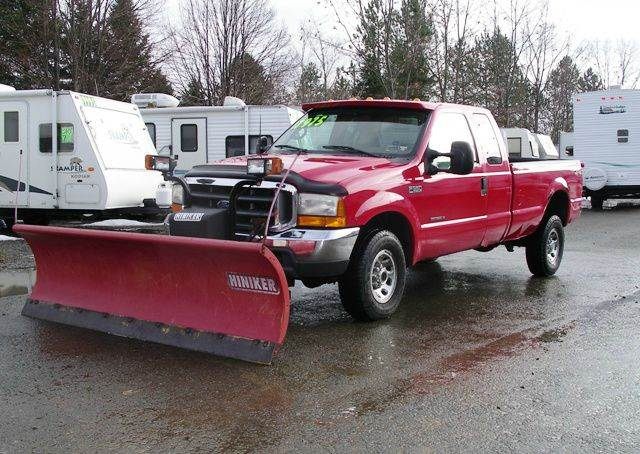 2000 Ford F-350 LARIAT 4X4 with 9' PLOW - Springville NY